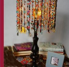Photo of How to Make a Beaded Lamp Shade   eHow.com