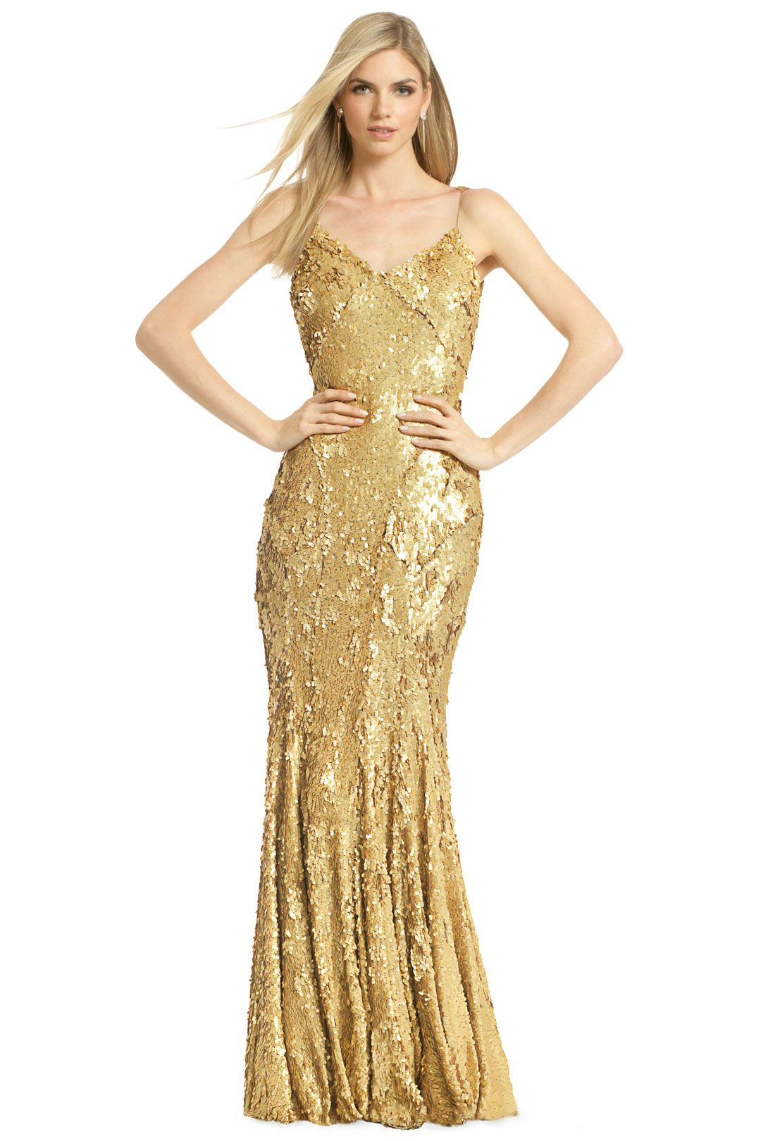 As Good as Gold Gown | Ohio, Carnivals and Rent the runway