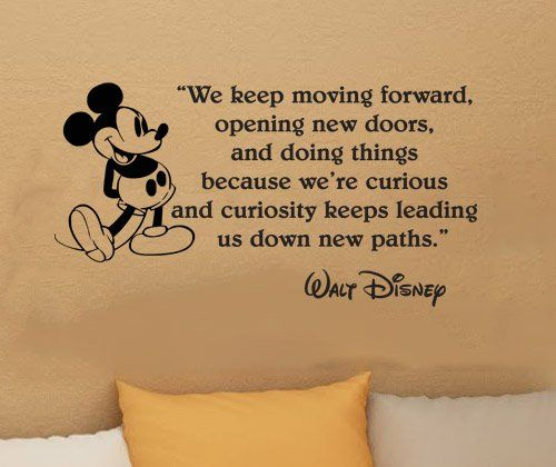 Image result for quote walt disney curious