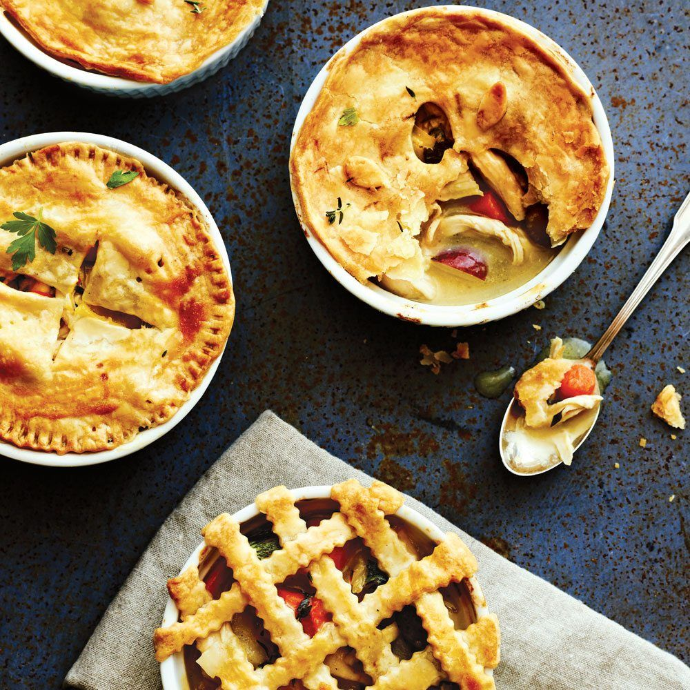 Sometimes you just want pure, homey comfort. Cooking Light has a recipe that hits all the flaky, creamy, potato-rich notes of the classic chicken pot pie but is much lighter in calories and sodium.The recipe uses a quickhomemade crust, but you can also purchase store-bought crust to save time. Find more low-calorie dinner meals like …