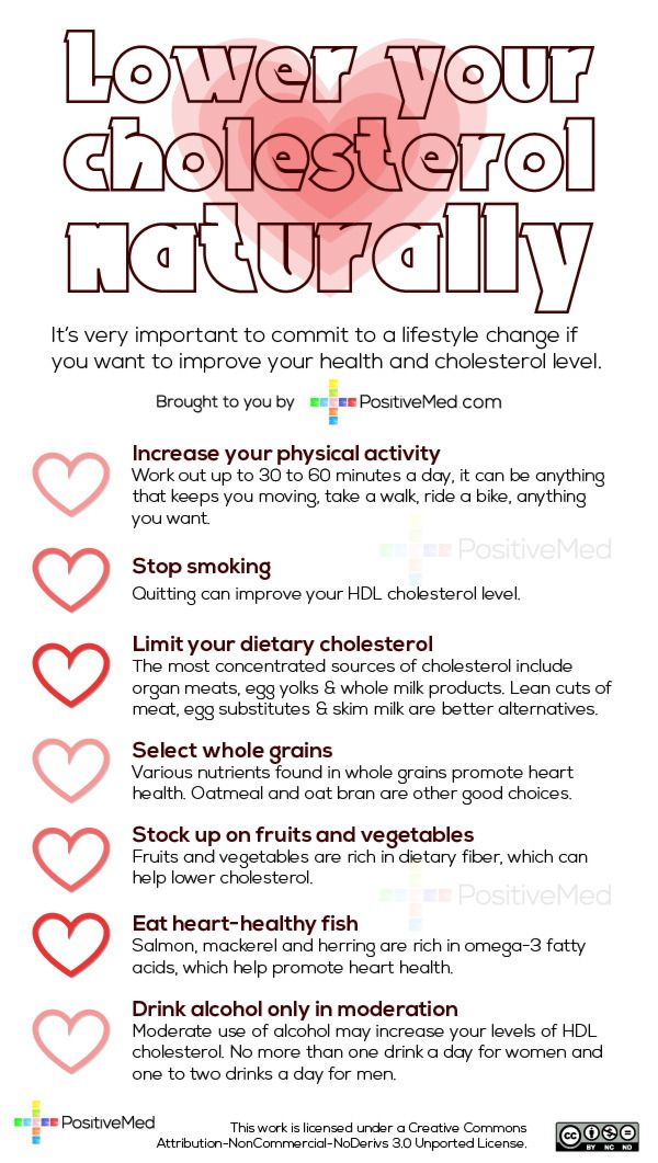 Natural Tips To Significantly Lower Your High Cholesterol