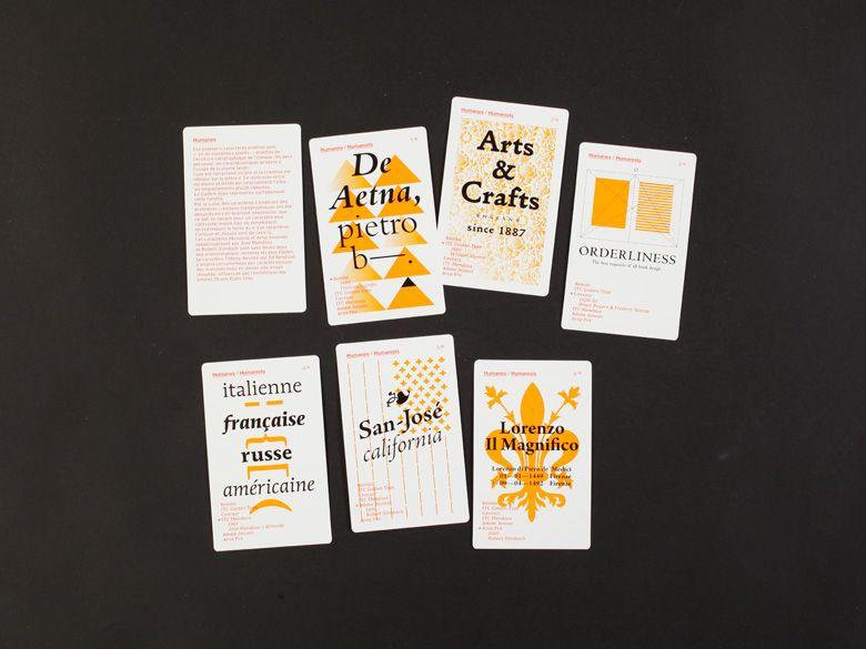 Editions 205 Jeu De 9 Familles Typographiques