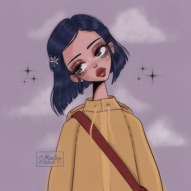 Marly Marlysophie Instagram Photos And Videos Girls Cartoon Art Kawaii Art Ilustration Art