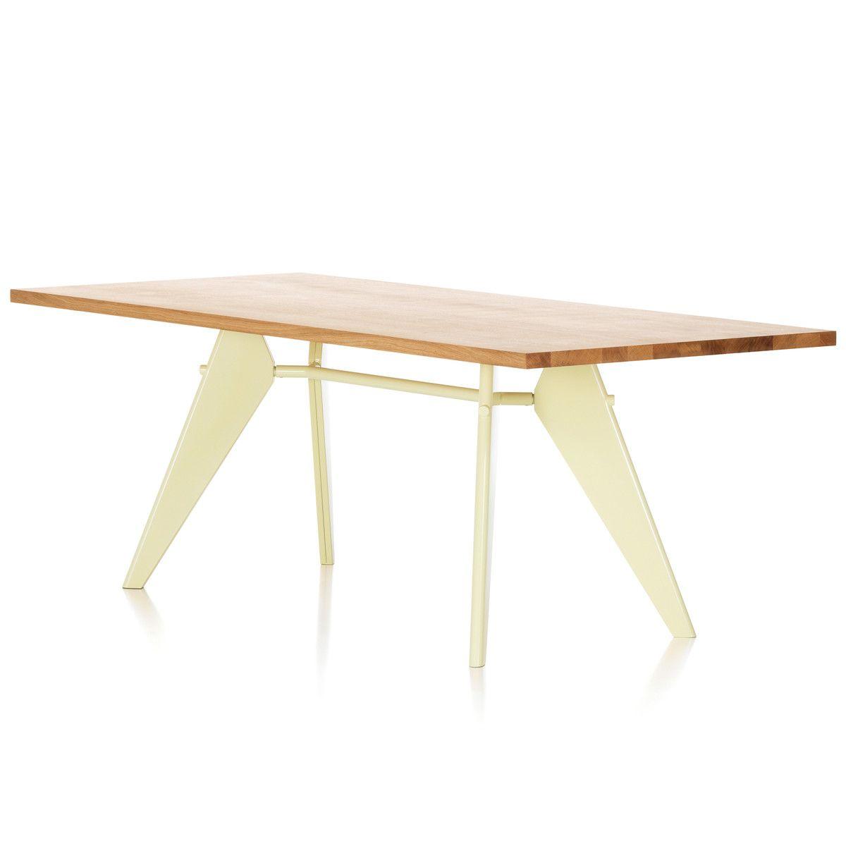 Vitra - EM Table Esstisch (Massivholz), 240 cm, Eiche natur/ ecru Jetzt bestellen unter: https://moebel.ladendirekt.de/kueche-und-esszimmer/tische/esstische/?uid=b09b8420-7e2f-52ba-9940-84f8dd178386&utm_source=pinterest&utm_medium=pin&utm_campaign=boards #kueche #esstische #esszimmer #tische