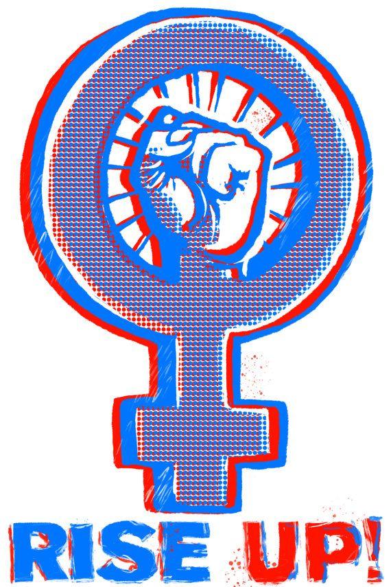 3d Feminist Fist Download Nasty Womanvote Feminist Art Female Symbol