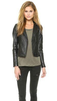Joie Davey Leather Jacket |