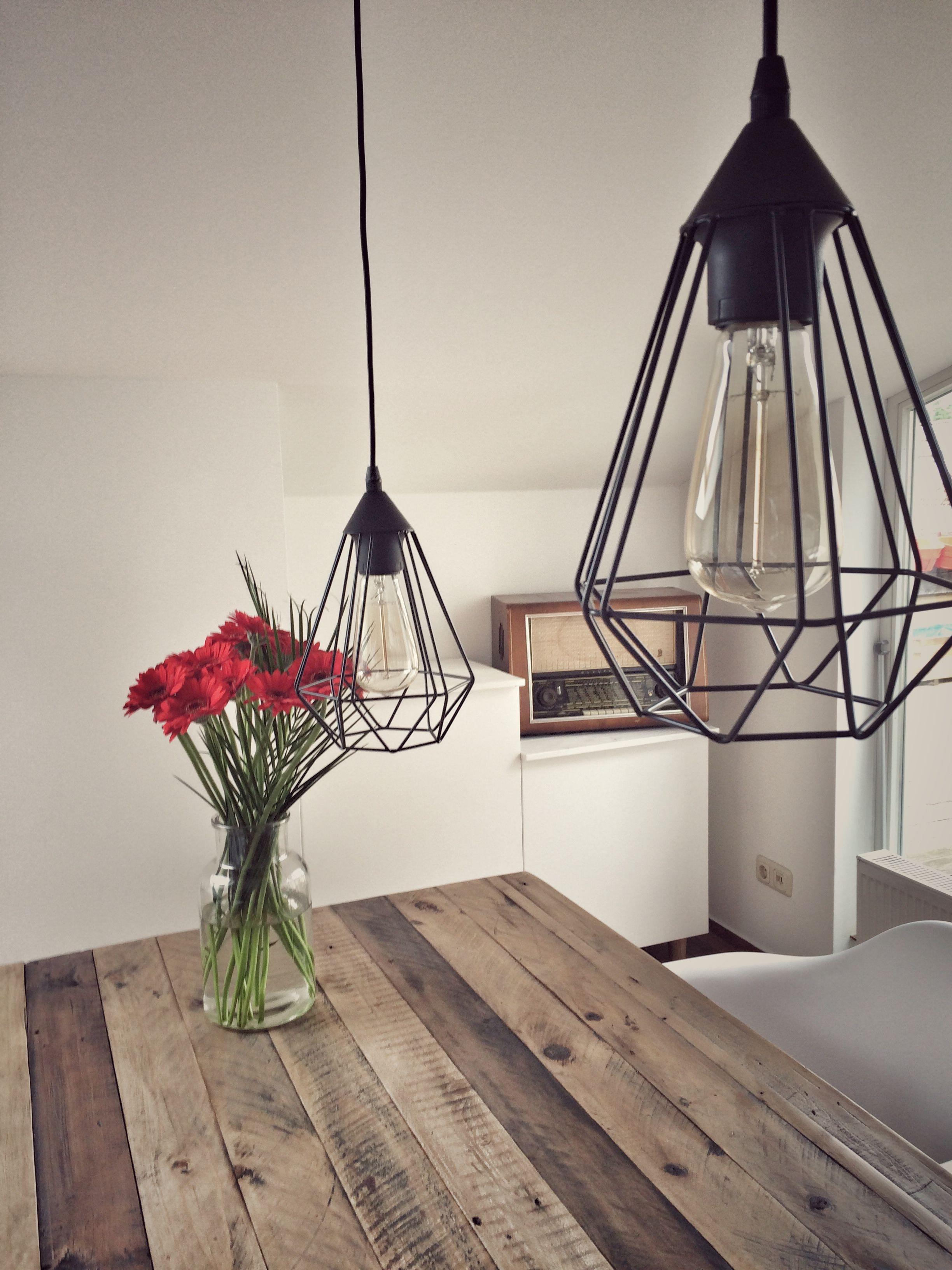 Neue Einrichtung Für Unser Esszimmer! Industrial Style   Massivholz    Polygon   Retro Radio