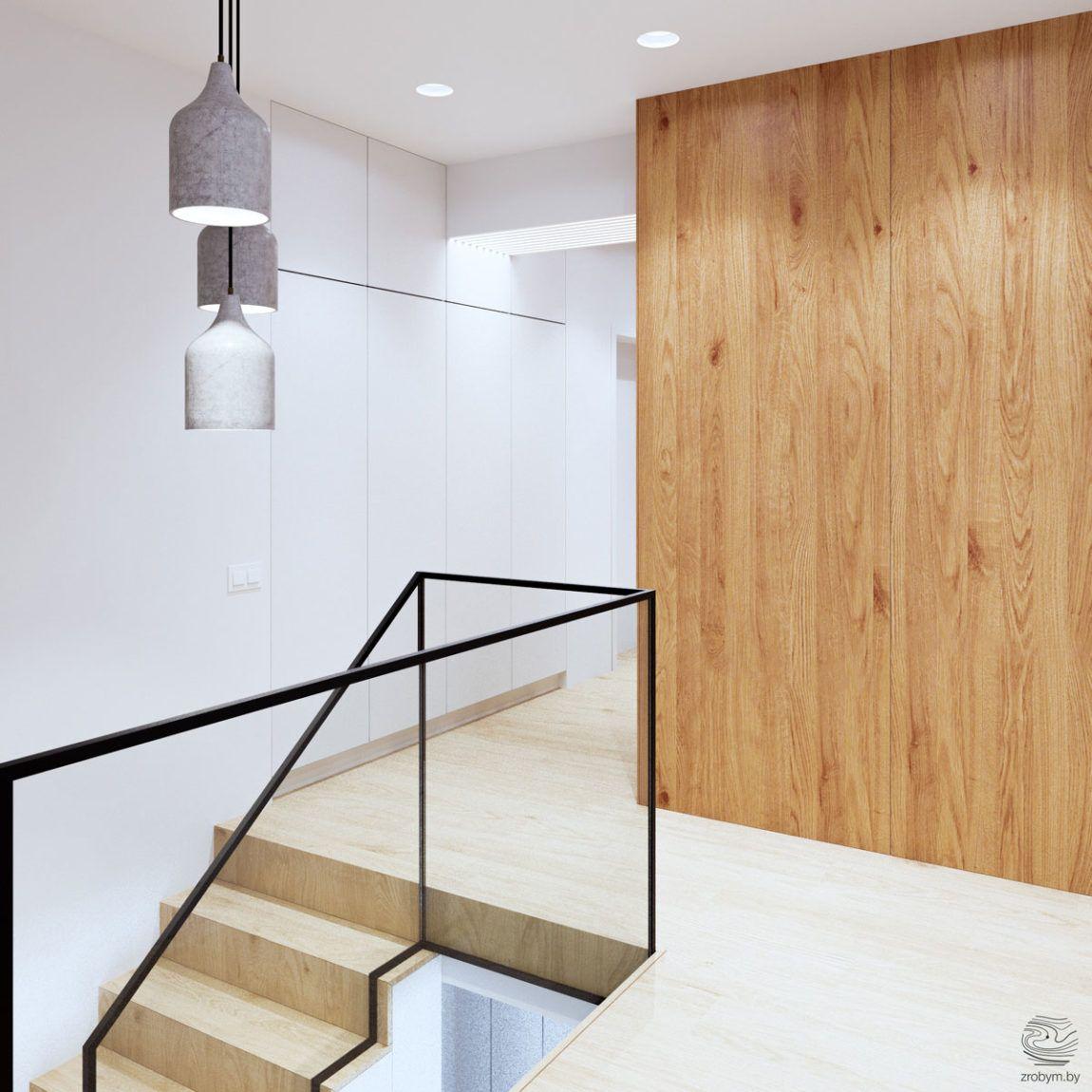 Best Zrobym Architects Visualize A Stylish Duplex Apartment In 640 x 480
