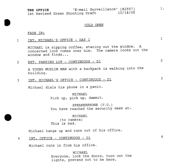 A Simple Guide to Formatting Television Scripts Tv