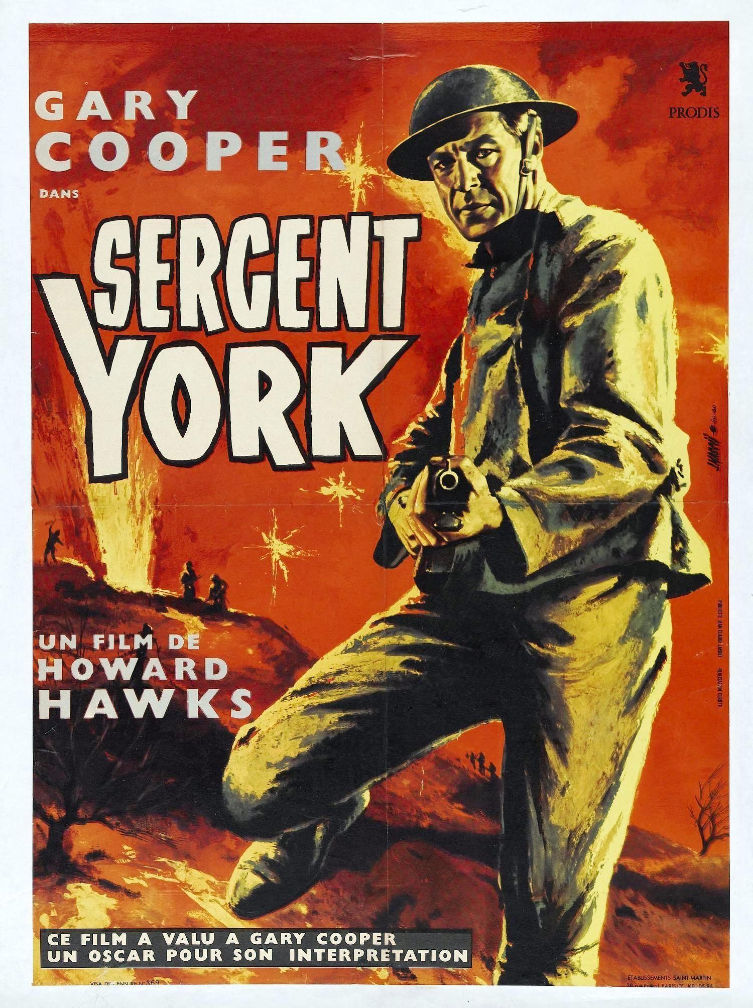 Sergent York 1941 En Streaming Film Complet Vf Youwatch Vk Filmstreaming Hd Com Affiche De Film Films Complets 1941 Film