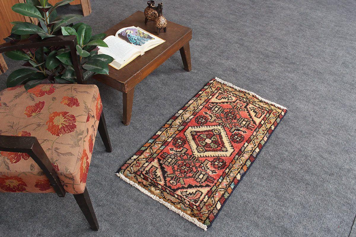 Persian Oriental Hooked Small Turkish Front Door Mat Rustic Home Decor Vintage Rug 1 8 X 2 9 Code 052611 In 2020 Vintage Rugs Buying Rugs Online Small Rugs
