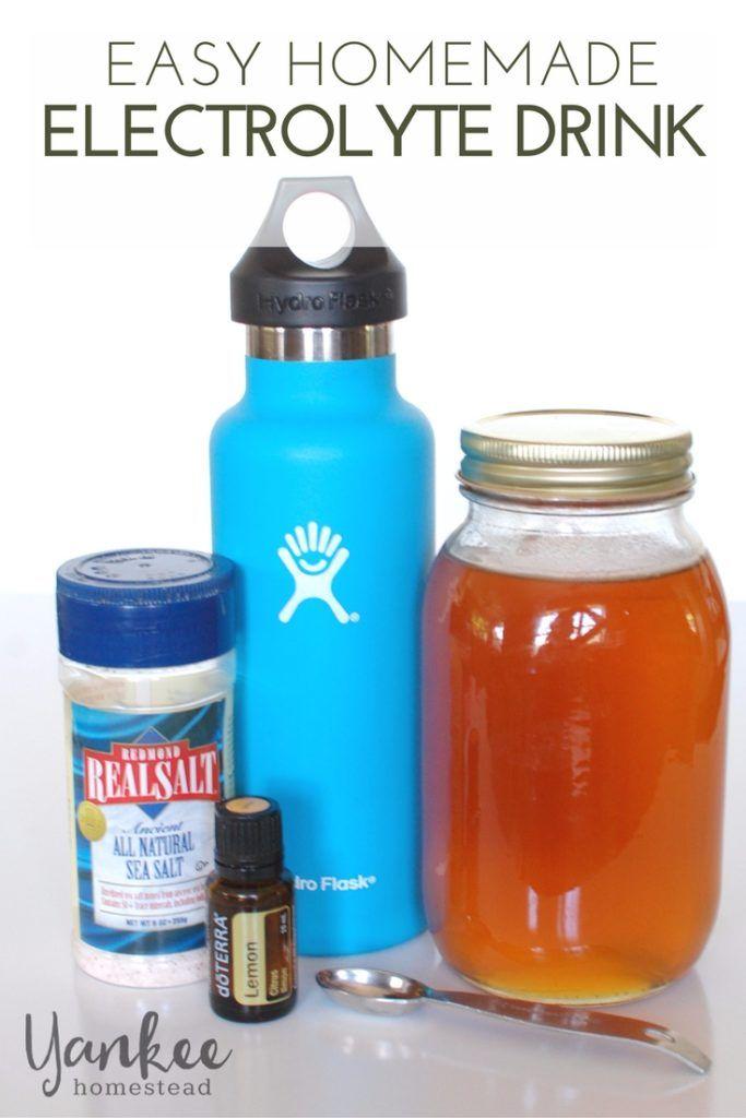 Easy Homemade Electrolyte Drink Recipe Electrolyte Drink Homemade Electrolyte Drink Drinks