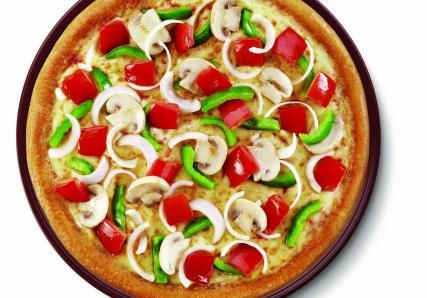 Farm House Pizza That Goes Ballistic On Veggies Check Out