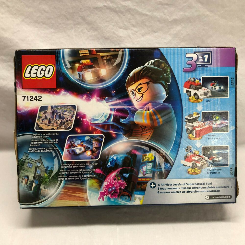 LEGO Dimensions Ghostbusters Story Pack 71242 NEW Box Distressed