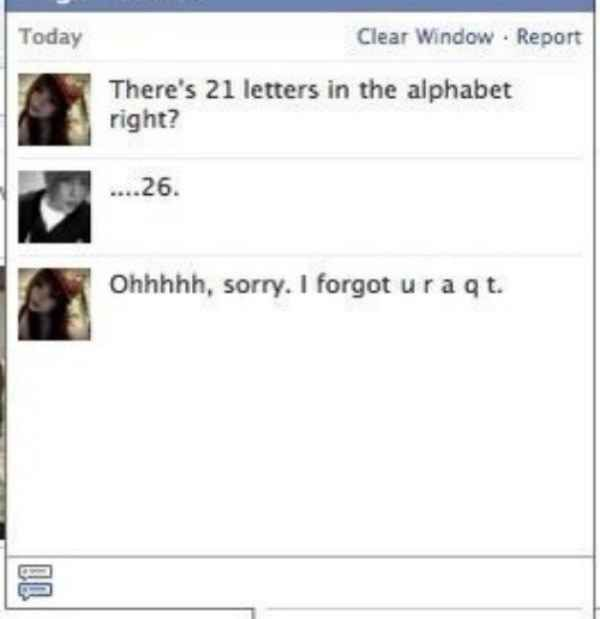 This person utilizing the alphabet. | 25 People Who Have Nailed This Flirting Thing