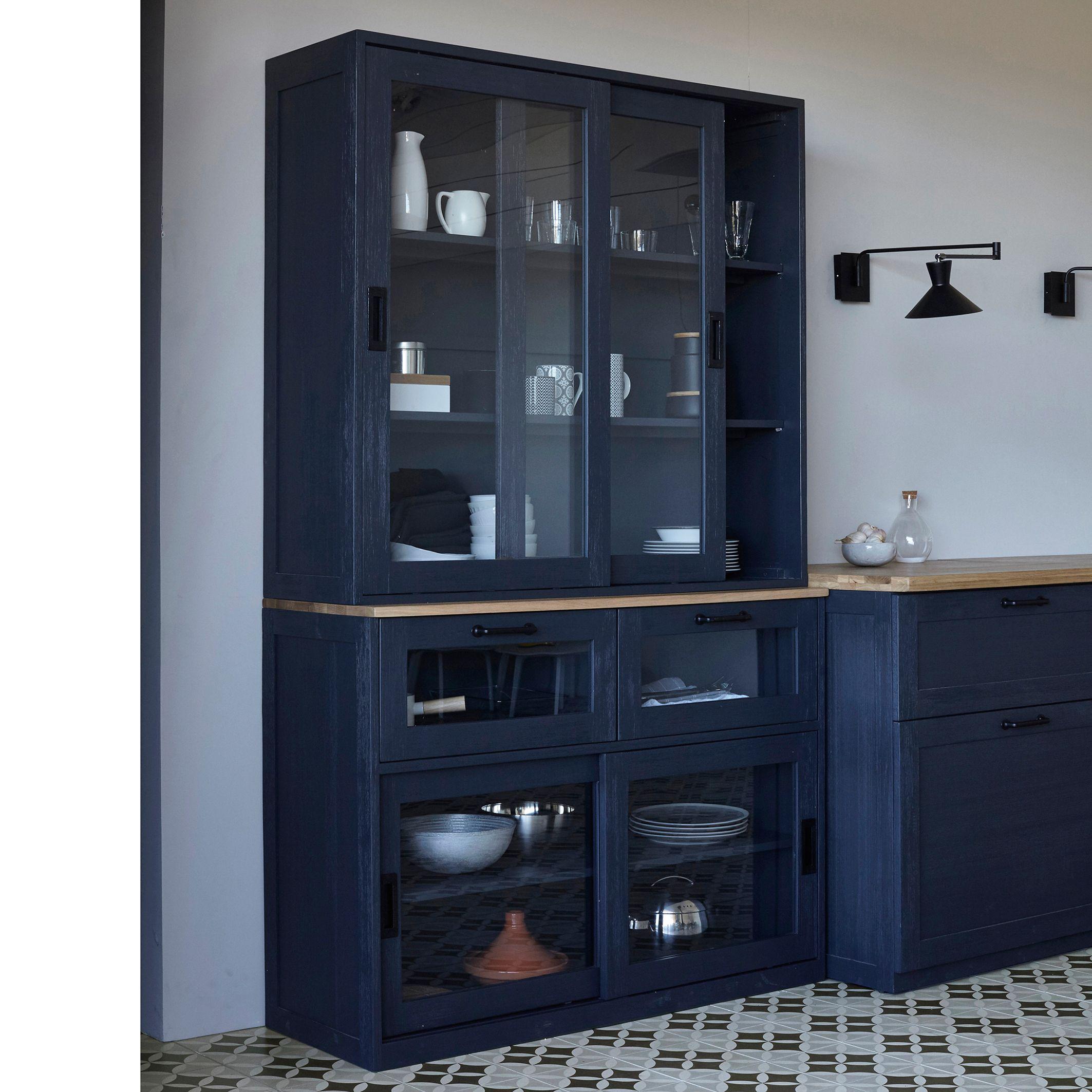Vaisselier meuble haut galdor am pm prix promo vaisselier la redoute meubles pas cher - Ampm meuble tv ...