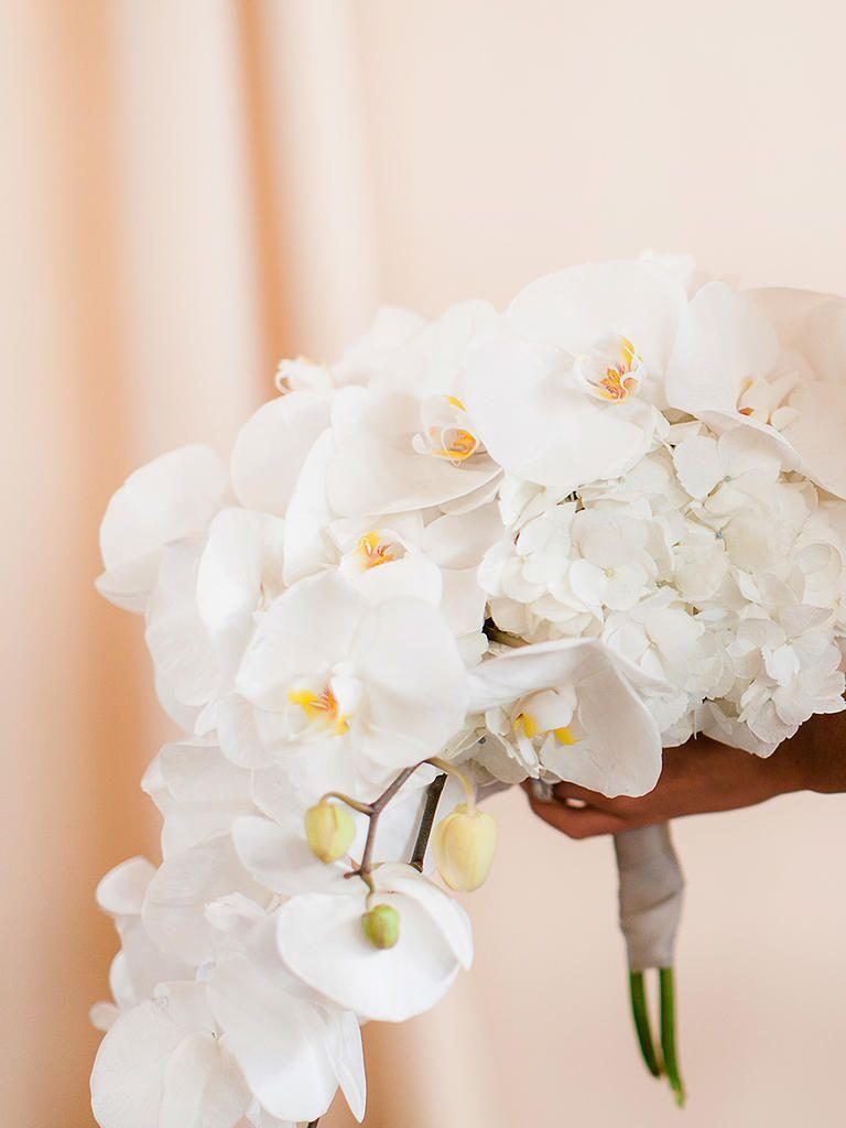 20 Romantic White Wedding Bouquet Ideas Flower Bouquet Wedding Orchid Bouquet Wedding White Orchid Bouquet