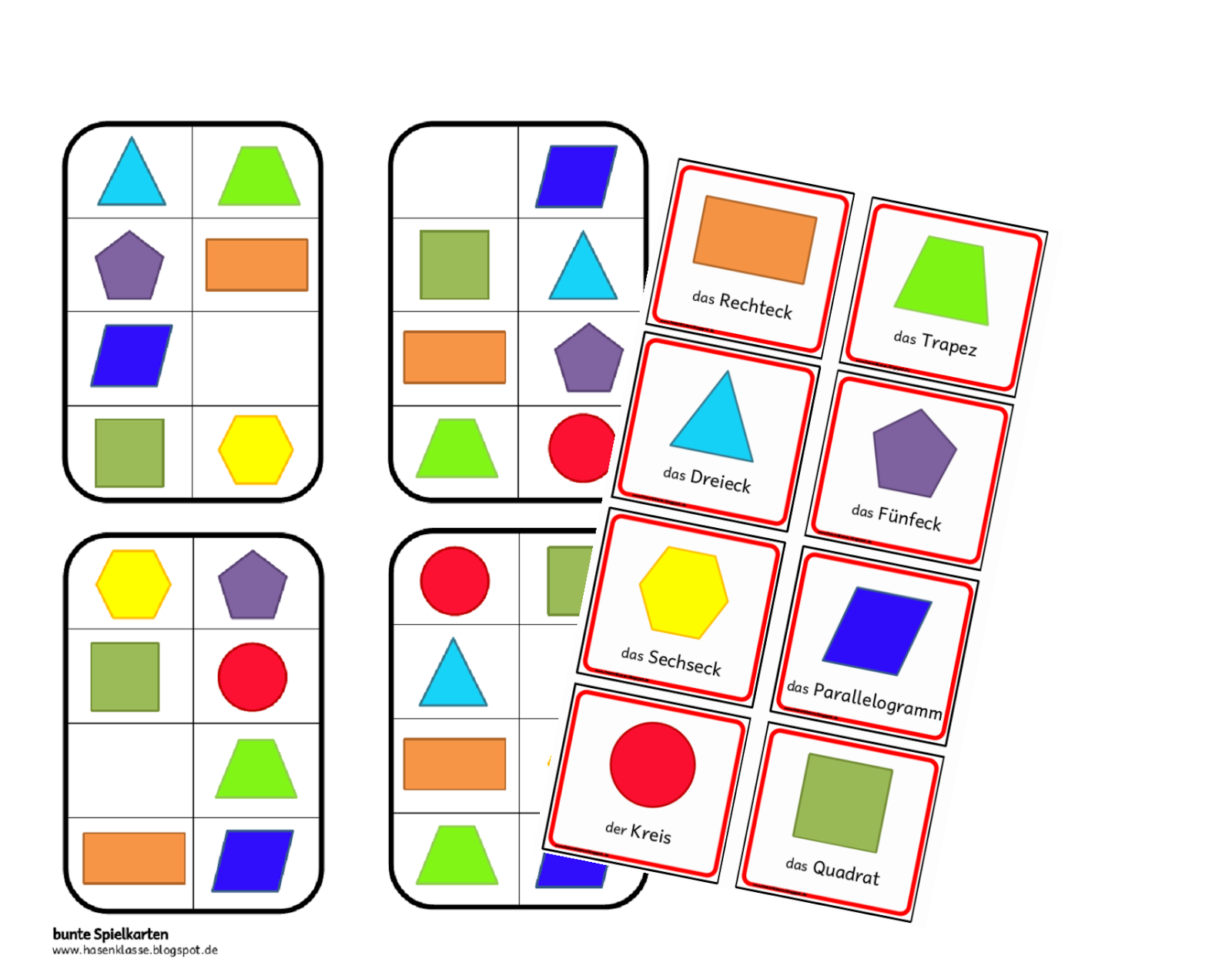 ein spiel f r den geometrieunterricht differenziert f r verschiedene klassenstufen ziel ist es. Black Bedroom Furniture Sets. Home Design Ideas