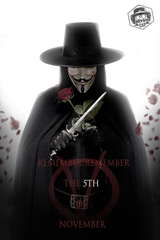V For Vendetta By Bryanzap On Deviantart In 2020 V For Vendetta