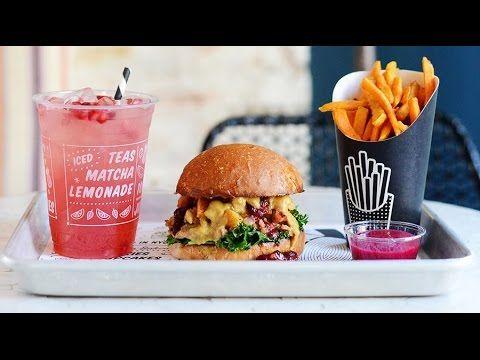 Take A Virtual Tour Of By Chloe Vegan Restaurant In La Https Www Youtube Com Watch V Vhyujnh0t1w Vegan Fast Food Vegan Restaurants Vegan Junk Food