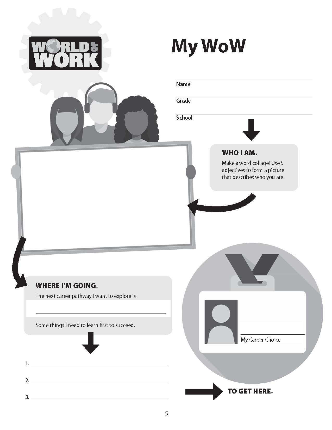 Idea By Bright Futures Press On Hello World Of Work