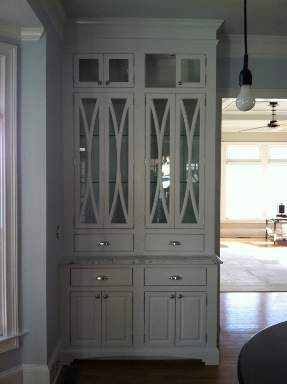 China Cabinet With Elliptical Door Mullions China Cabinet Cabinet Glass Cabinet Doors
