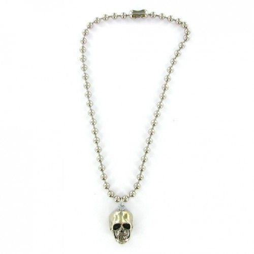 Counting Cars Danny Koker Skull Necklace
