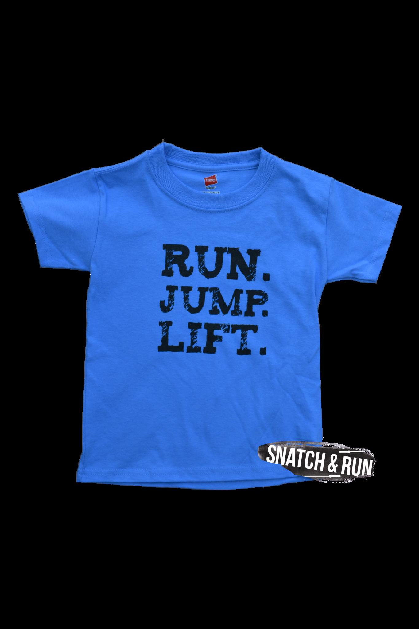 Run Jump Lift Kids Tee