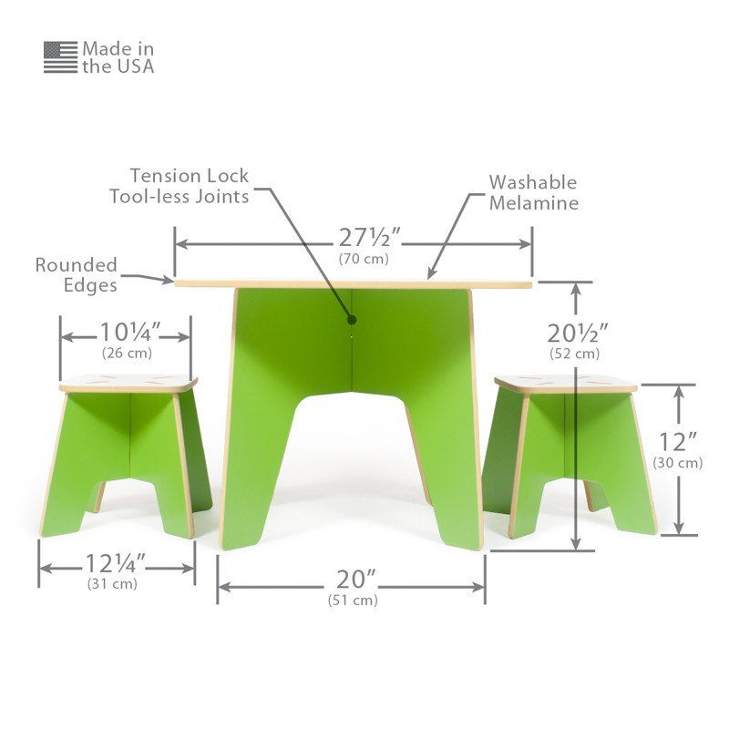 The Sprout Modern Kids Table And Stools Are Perfect For Art, Play, Or Craft  Projects. They Make Great Study Tables And Activity Tables.