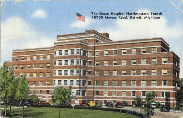 Grace Hospital On 7 Mile Rd Meyer Detroit Detroit Detroit
