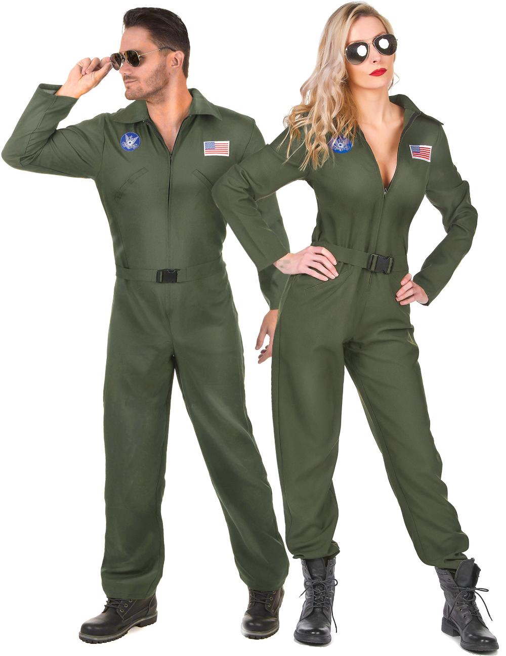 Combinaison de pilote d'avion pour femme