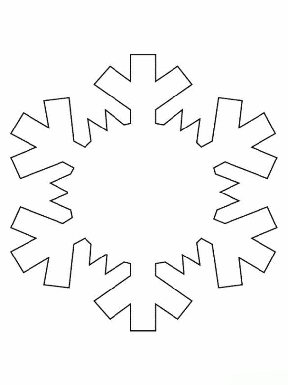 Malvorlagen Schneeflocke Ausmalbilder 3 Schneeflocken