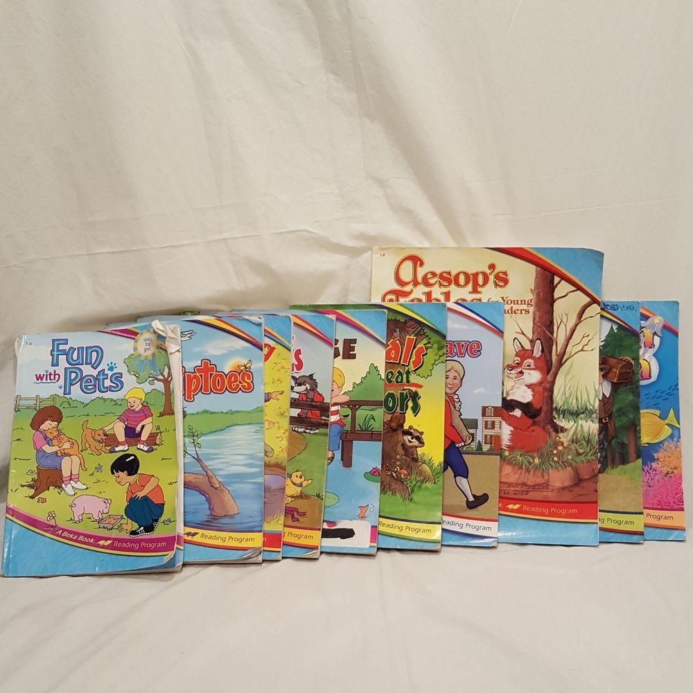 A Beka 1st First Grade Reading Set Home School 10 Books 2012