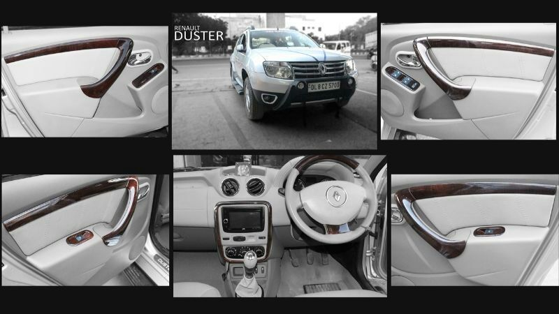 Wooden Finishing In Renault Duster For More Design For Wooden