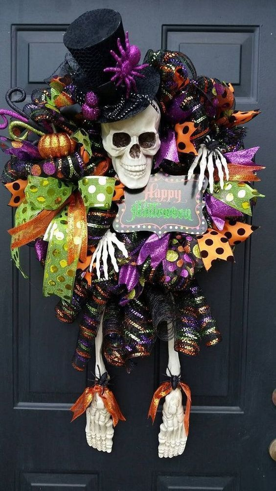 Photo of 21+ Spooky DIY Halloween Wreath Ideas and Designs For 2020