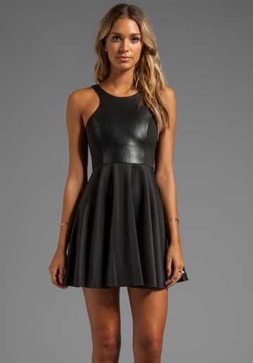 Fit And Flare Dress In 2019 Dresses Fashion Black