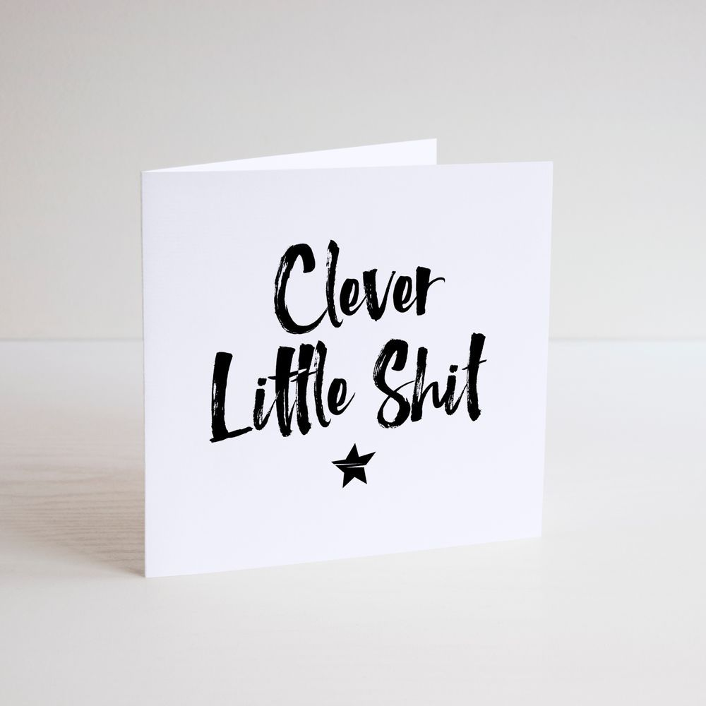 Funny greeting card cheeky humour banter clever little thing funny greeting card cheeky humour banter clever little thing well done m4hsunfo