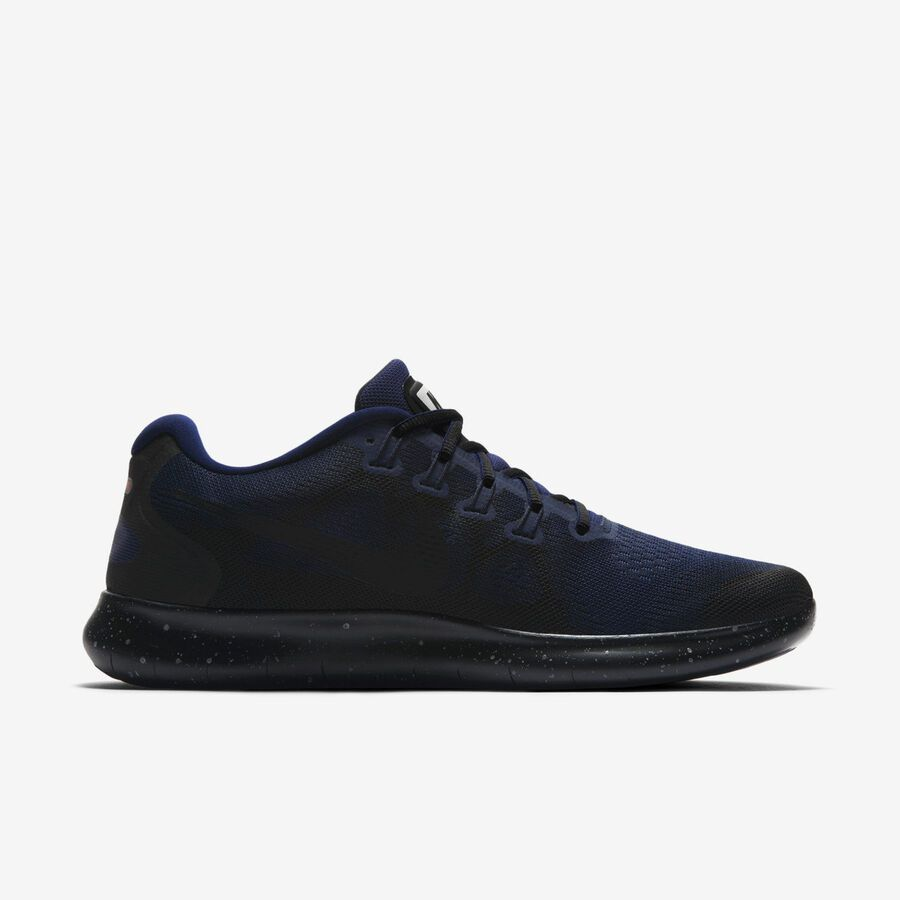 0c2f1745ab0 Nike Free RN 2017 Shield AA3760-001 Triple Black Obsidian Men s Running  Shoes Shield Nike Free