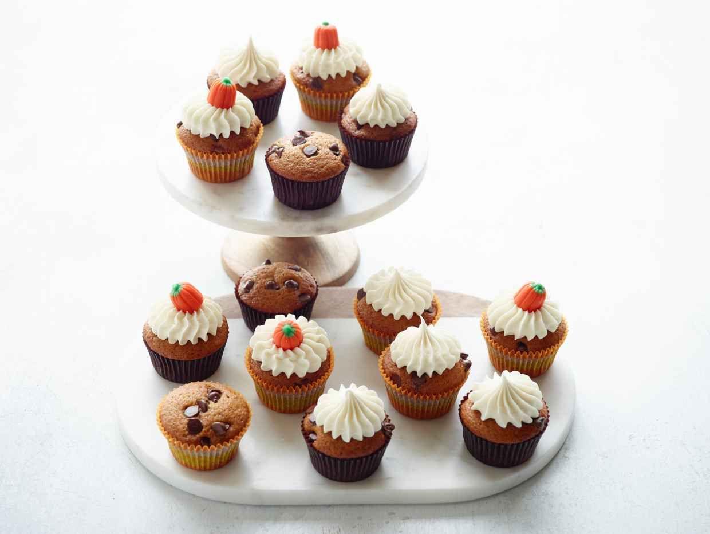 Pumpkin Chocolate Chip Cupcakes Chocolate Chip Cupcakes