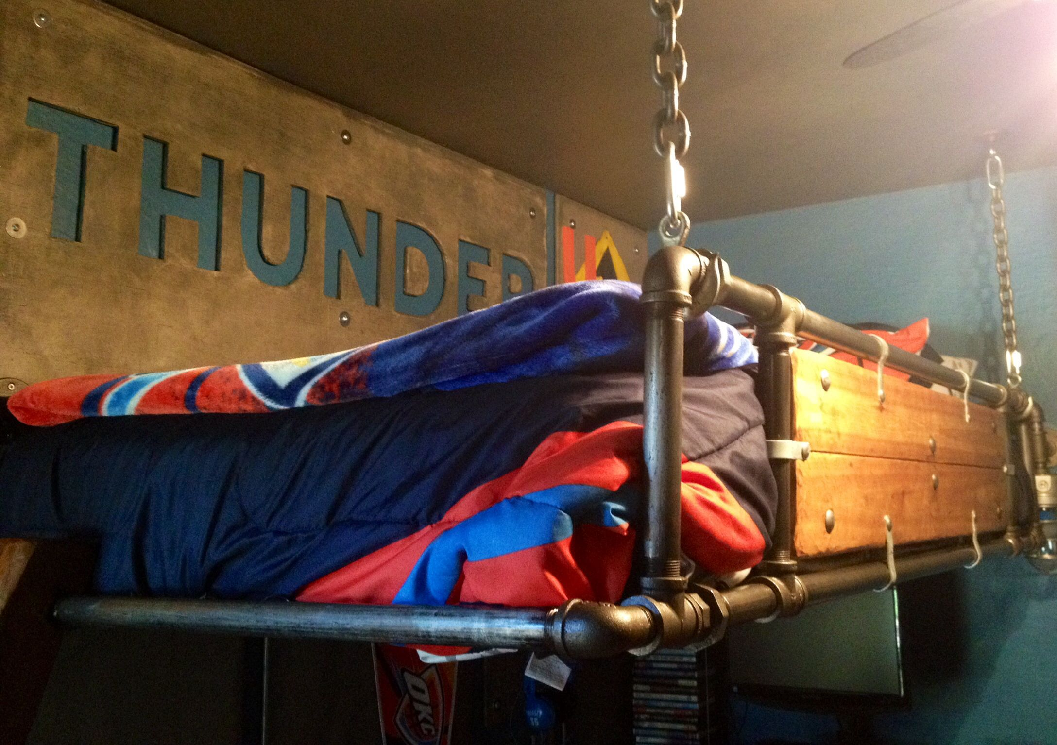 Okc Thunder Bedroom
