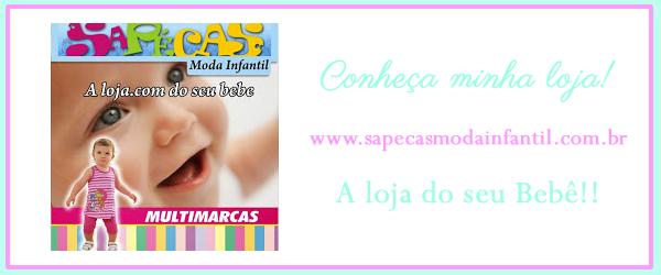 Minha loja virtual de roupa infantil www.sapecasmodainfantil.com.br