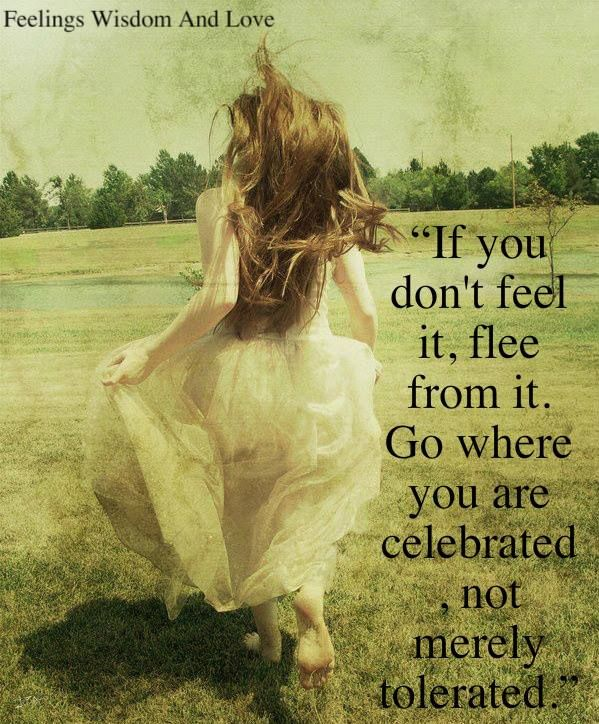 """If Sumthng doesnt """"FEEL"""" Right.. DISCERN DISCERN DISCERN Immediately walk away from It.. Reject it.... Release it..... Let it gooo"""