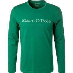 Photo of Marc O'Polo long-sleeved T-shirt men, organic cotton, green Marc O'Polo