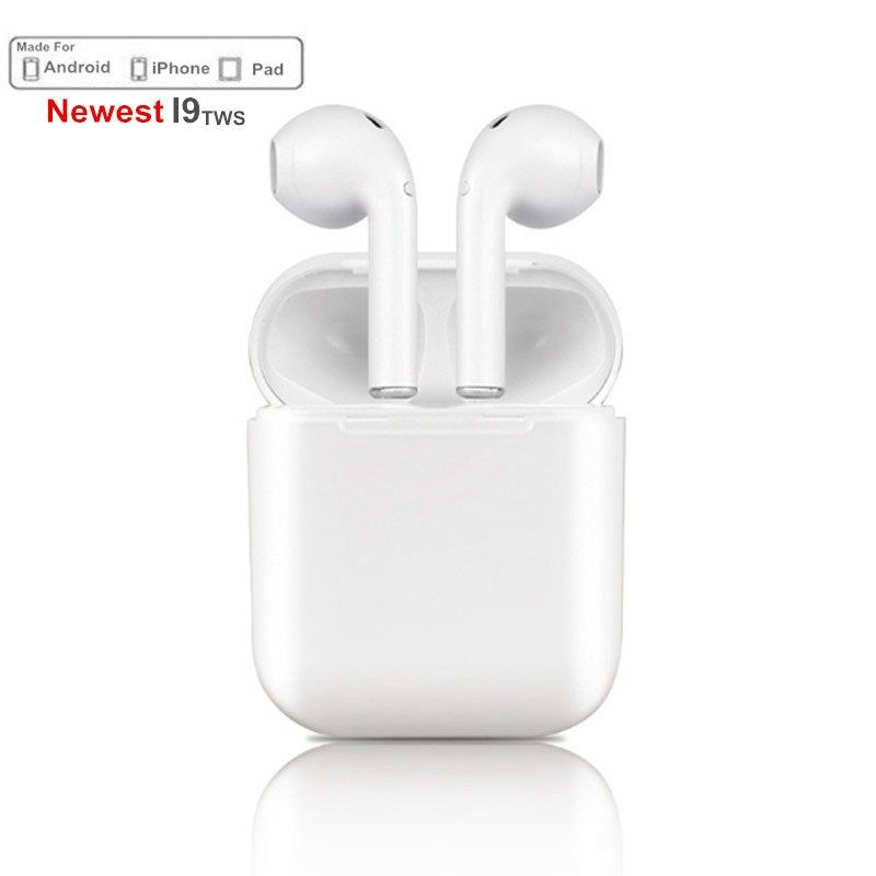 8acf35f2e14 Cheap Mini IFANS I9S TWS Airpods Wireless Bluetooth Earphone Earbuds With  Mic Not Airpods For iPhone Samsung Android Dropshipping
