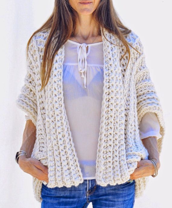 Instructions to Make: the Montreal Crochet Vest PDF PATTERN ONLY ...