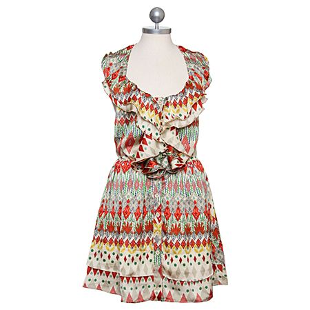 sold out :( mosaic festival ruffle dress would be so cute for my trip to orlando