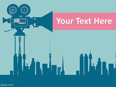 Industrial Cinematography Powerpoint Template