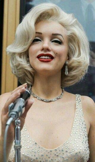 Marilyn | Vintage hairstyles, Cool short hairstyles, Long ...