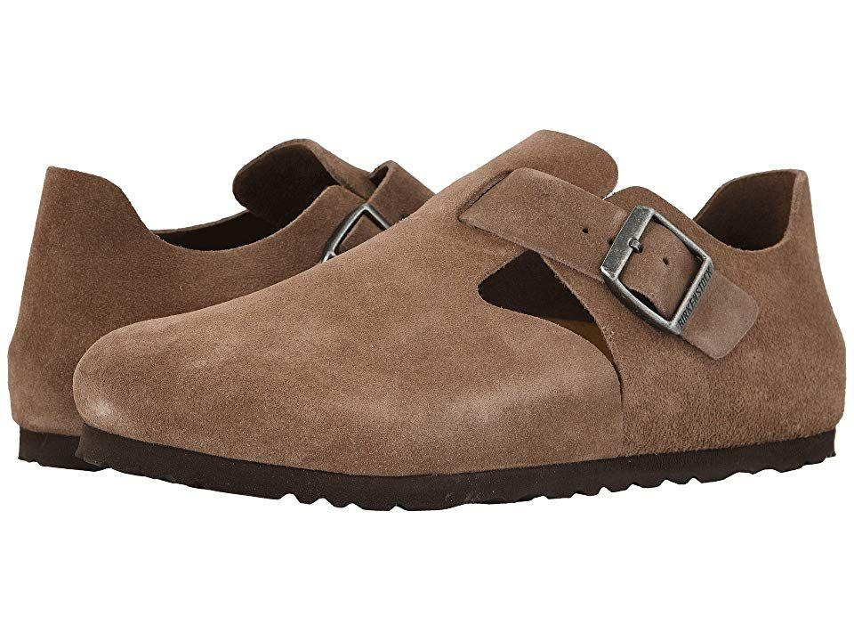 Birkenstock London Taupe Suede