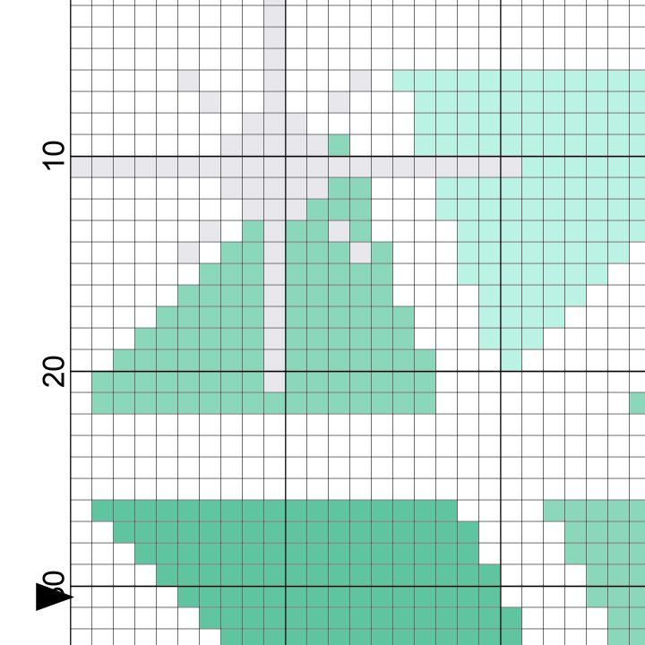 Diamond Cross Stitch Pattern